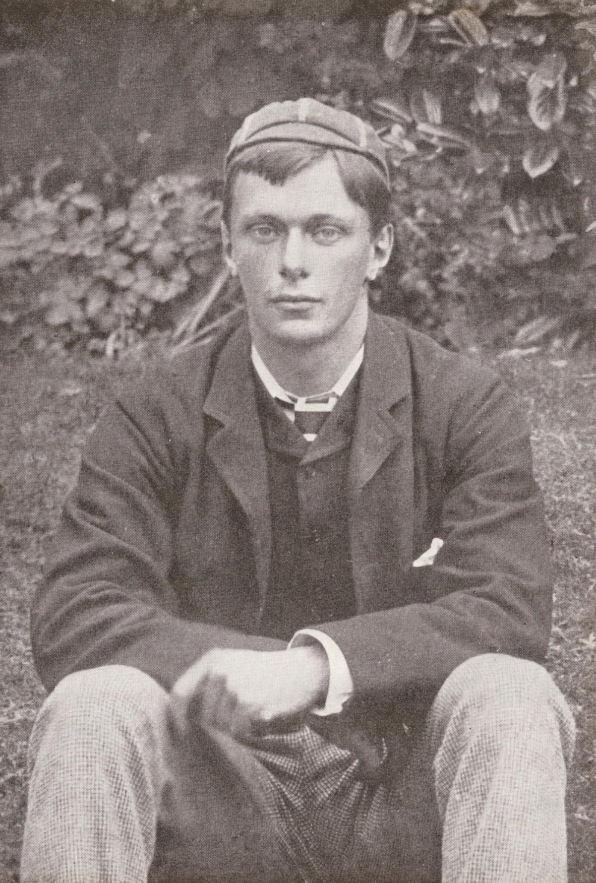 E.F. Benson at 19